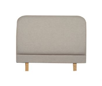 Rome Headboard in Faux Suede Black, Brown or Stone